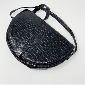 VTG Patent Leather Convertible Clutch